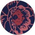 rug #541573 | round pink graphic rug