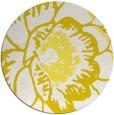 rug #541757 | round white graphic rug