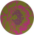 rug #541809 | round light-green graphic rug