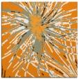 rug #546049 | square light-orange abstract rug