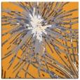 rug #546053 | square light-orange abstract rug