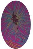 rug #546124 | oval abstract rug