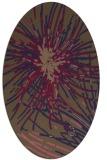 rug #546167 | oval natural rug