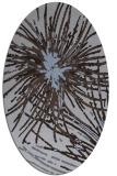 rug #546169   oval abstract rug