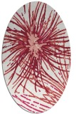 rug #546278 | oval abstract rug