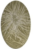 rug #546381 | oval light-green rug