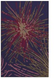 rug #546517 |  blue-violet abstract rug