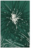 rug #546541 |  green abstract rug