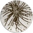 rug #546761 | round beige natural rug