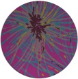rug #546828 | round abstract rug