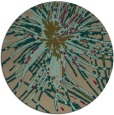 rug #546882 | round abstract rug