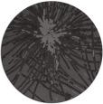 rug #546909 | round mid-brown natural rug