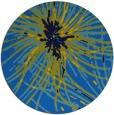 rug #546929 | round blue natural rug