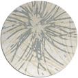 rug #547045 | round beige abstract rug