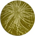 rug #547081 | round light-green abstract rug