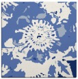 rug #549265 | square blue abstract rug