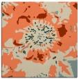 rug #549421 | square orange rug
