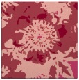 rug #549441 | square pink rug