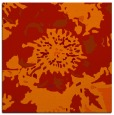 rug #549469 | square red abstract rug