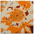 rug #549541 | square orange rug