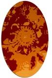 rug #549766 | oval natural rug