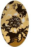 rug #549875   oval abstract rug