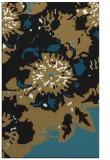 rug #549949    brown abstract rug