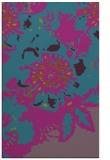 rug #549993    pink abstract rug