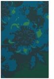 rug #550009 |  blue abstract rug