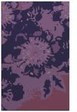 rug #550025 |  purple natural rug