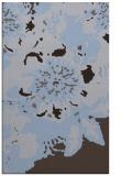 rug #550041 |  blue-violet abstract rug