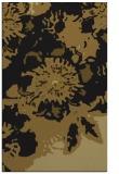 rug #550045    mid-brown abstract rug