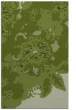 rug #550053 |  green abstract rug