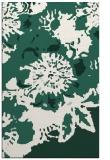 rug #550061    blue-green abstract rug