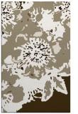rug #550069 |  mid-brown abstract rug