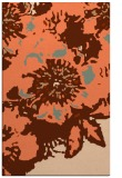 rug #550129    red-orange abstract rug