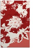 rug #550177 |  red abstract rug