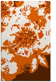 rug #550197    red-orange abstract rug
