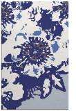 rug #550209 |  blue abstract rug