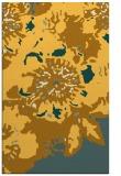 rug #550233 |  light-orange abstract rug