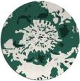 rug #550413   round blue-green natural rug