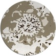 rug #550421 | round mid-brown natural rug