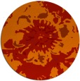 rug #550526 | round abstract rug