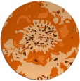 rug #550541 | round abstract rug
