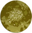 rug #550601 | round light-green abstract rug