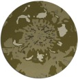 rug #550613 | round light-green abstract rug