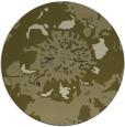 rug #550613 | round light-green natural rug