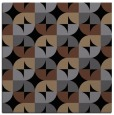 rug #550993   square black retro rug