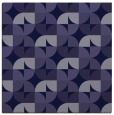 rug #551069 | square blue-violet retro rug