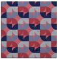 rug #551080 | square circles rug